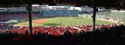 Fenway Park secção Grandstand 12