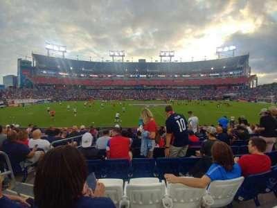 Nissan Stadium secção 112