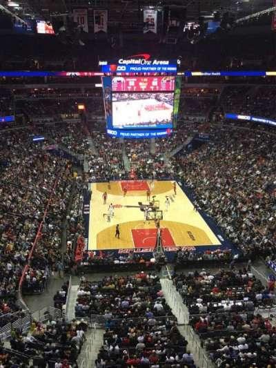 Capital One Arena secção 408