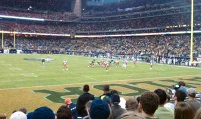 NRG Stadium secção 138