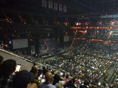Capital One Arena secção 201
