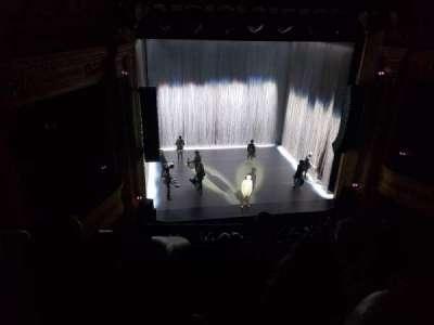 Hudson Theatre secção Balcony Center