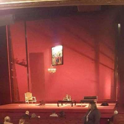 Ethel Barrymore Theatre secção Orchestra R