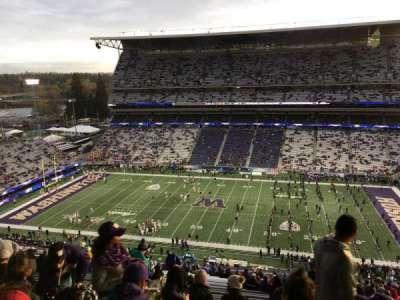 Husky Stadium, secção: 328, fila: 34, lugar: 2