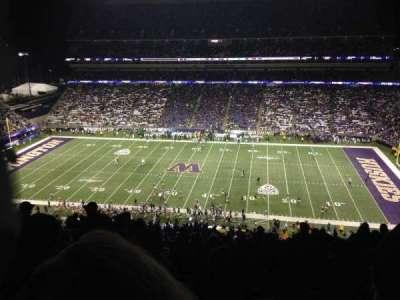 Husky Stadium, secção: 328, fila: 34, lugar: 3