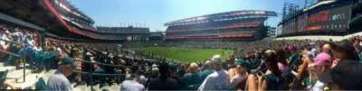 Lincoln Financial Field, secção: 126, fila: 25, lugar: 1