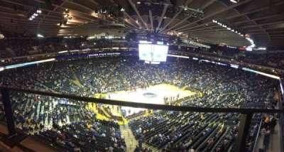 Oracle Arena, secção: 220, fila: 1, lugar: 10