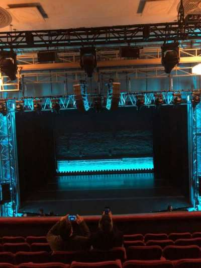 Broadhurst Theatre secção Mezzanine C