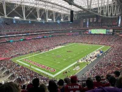 State Farm Stadium, secção: 453, fila: 5, lugar: 11