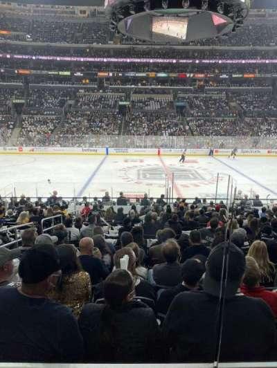 Staples Center, secção: 101, fila: 18, lugar: 14