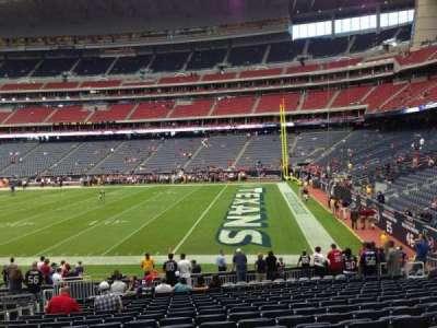 NRG Stadium secção 122