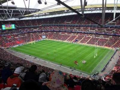 Wembley Stadium, secção: 521, fila: 33, lugar: 233