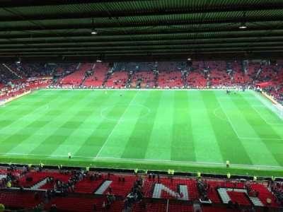 Old Trafford, secção: N4406, fila: 2, lugar: 63