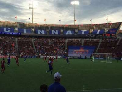 Nippert Stadium, secção: 120, fila: 6, lugar: 10