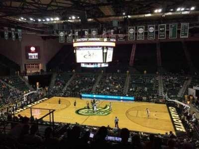 Dale F. Halton Arena, secção: 220, fila: K, lugar: 5