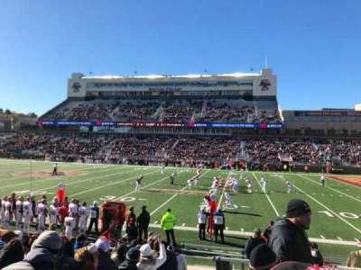 Alumni Stadium, secção: S, fila: 16, lugar: 1