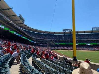 Angel Stadium secção 134
