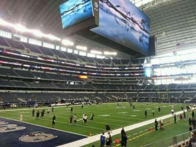 AT&T Stadium secção 145