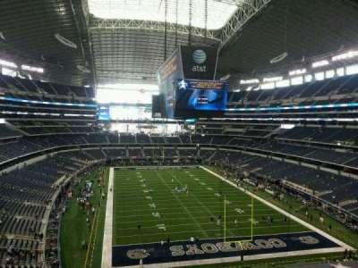 AT&T Stadium secção 350
