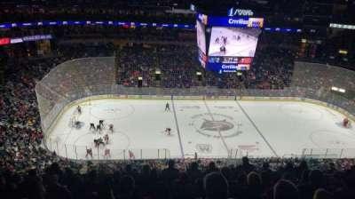Nationwide Arena, secção: 204, fila: L, lugar: 9