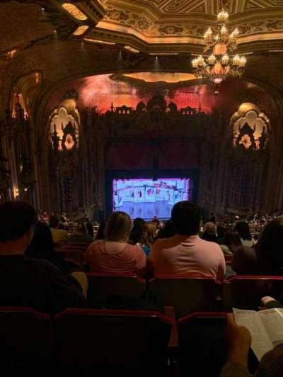 Ohio Theatre (Columbus) secção Balcony D