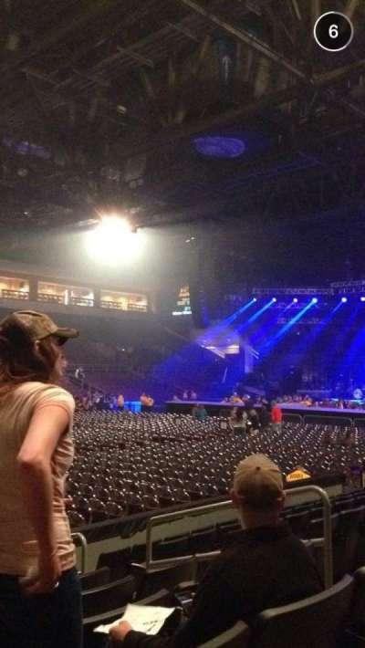 Erie Insurance Arena, secção: 116, fila: H, lugar: 6
