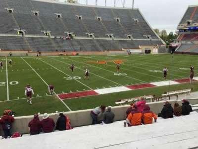 Lane Stadium, secção: 6, fila: Q, lugar: 14