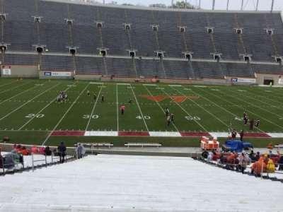 Lane Stadium, secção: 8, fila: MM, lugar: 16