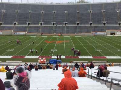 Lane Stadium, secção: 12, fila: MM, lugar: 3