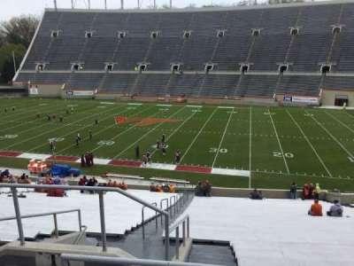 Lane Stadium, secção: 14, fila: SS, lugar: 6