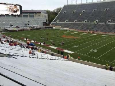 Lane Stadium, secção: 18, fila: RR, lugar: 7