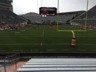 Lane Stadium, secção: 103, fila: M, lugar: 27