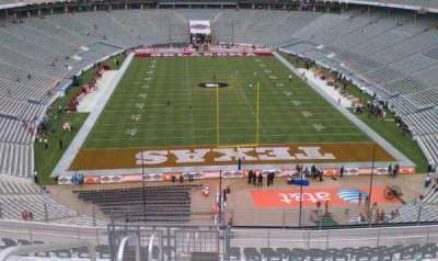 Cotton Bowl secção 117