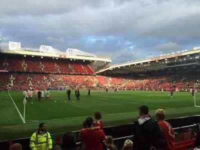Old Trafford, secção: 101, fila: JJ, lugar: 180