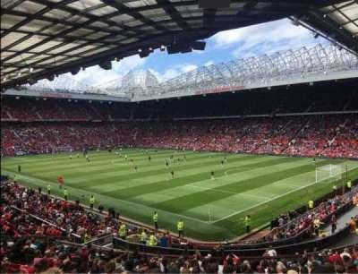 Old Trafford, secção: E230, fila: 22, lugar: 60