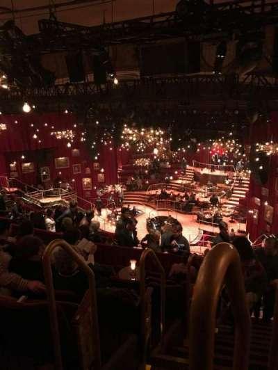 Imperial Theatre, secção: Rear Mezzanine, fila: G, lugar: 1