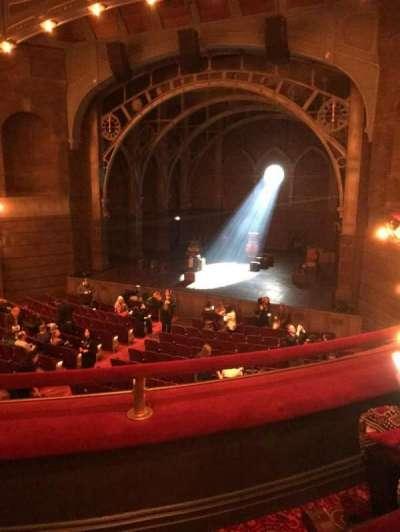 Lyric Theatre, secção: Dress Circle, fila: B, lugar: 6