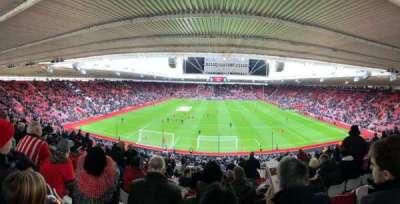 St Mary's Stadium, secção: 18, fila: NN, lugar: 0484
