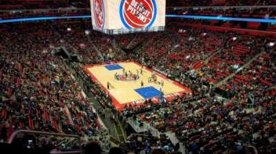 Little Caesars Arena secção M4