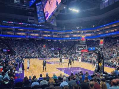 Golden 1 Center secção 101