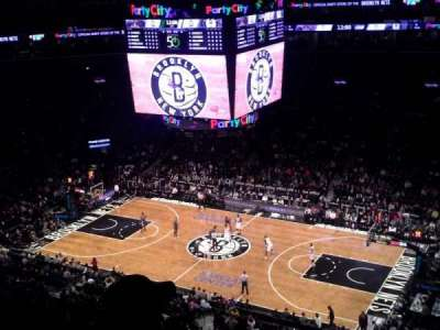 Barclays Center secção 222