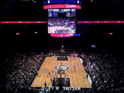 Barclays Center secção 215
