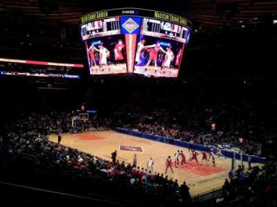Madison Square Garden secção 110