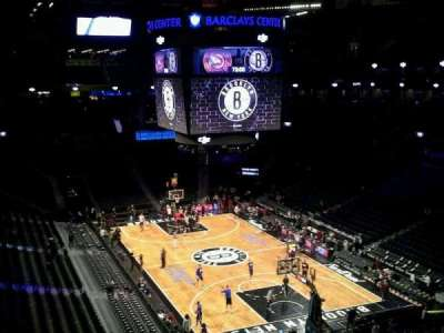 Barclays Center secção 218