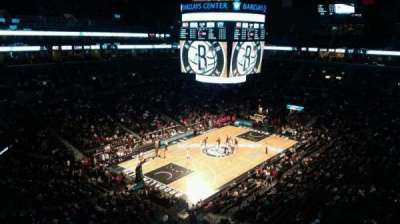 Barclays Center, secção: 228, fila: 7, lugar: 1
