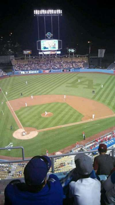 Dodger Stadium secção 8TD