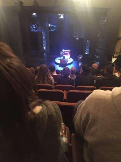 Music Box Theatre, secção: Mezzanine, fila: K, lugar: 10