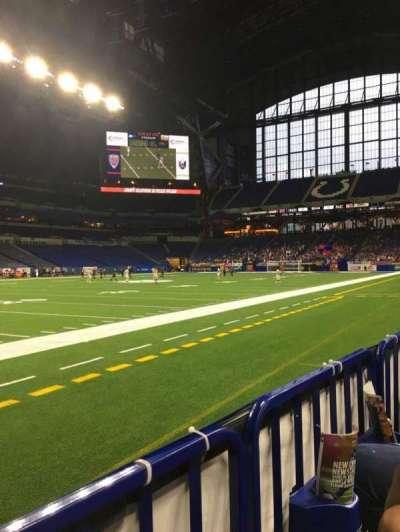 Lucas Oil Stadium secção 117