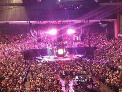 Jacksonville Veterans Memorial Arena, secção: 109, fila: CC, lugar: 3