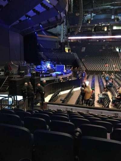 Bridgestone Arena secção 114